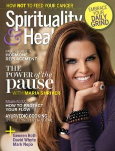 Spirituality & Health Magazine Cover, March-April 2018